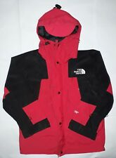The North Face Small Mountain Guide Jacket Mens Red Black Gore Tex Vintage