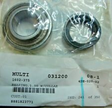 "Nos Arctic Cat Snowmobile 1"" Bearing with Collar 1602-375 New Oem"