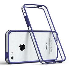 Bumper für Apple iPhone 5C Case Wallet Schutz Hülle Cover Dunkelblau