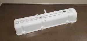 Datsun 240Z 260Z 280Z 280ZX Engine Motor Head OEM Gloss White Valve Cover OEM