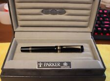 PARKER Duofold Centennial Black MK I Fountain Pen FIRST EDITION Year 1988 Minty