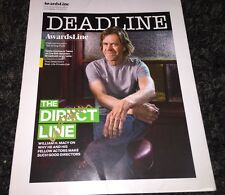 William H Macy signed Dealine FYC folder Shameless Frank Gallagher Felicity