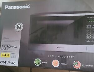 Panasonic NN-SU696 Microwave Oven - Stainless Steel