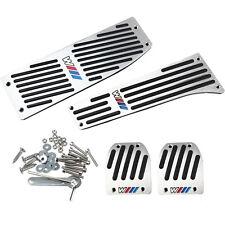 Coche Aluminio Reposapiés M Pedal De Gas Almohadilla Set para BMW X1 E30 E36 E46