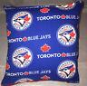 Blue Jays Pillow Toronto Blue Jays MLB Pillow Handmade in USA.