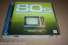Eighties 80s Music Explosion Shake It Up Time Life 2 CD Set Shannon Devo Cars