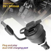 Auto Ladegerät KFZ Dual USB Lade LeistungAdapter for R1200GS R1250GS F850GS