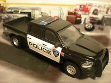 POLICE TRUCK 2014 DODGE RAM 1500 MARKED PATROL TRUCK 1/64 SCALE LIMITED EDT J24