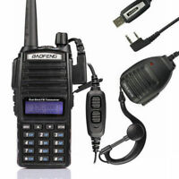 Baofeng UV-82L 2m/70cm Band VHF UHF Ham Two-way Radio + Cable&CD + Free Speaker