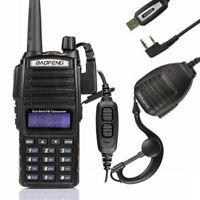 Baofeng UV-82L 2m/70cm Band VHF UHF Ham Two-way Radio + Cable&CD + Free Speaker