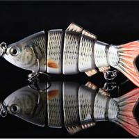 künstliche tragbare sie haken augen lebensecht fischerei locken - köder