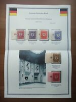 Germany 1922 Stamps MNH Wmk Arms of Munich Deutsches Reich Deutschland German
