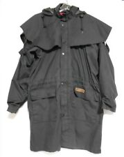 Wild Country Japara Mens Size M Black Zipper Hooded Outdoor Lined Coat Jacket