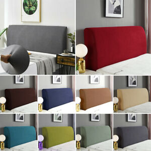 Stretch Jacquard Headboard Slipcover Dustproof Elastic Bed Head Protector Cover