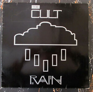 ♫ MAXI 1986 The Cult RAIN  1st German ED INDIE ROCK RARITÄT Beggars Banquet EX ♫