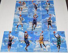 1999/00 Fleer Ultra NBA Basketball Heir to the Throne 10-Card Insert Set Shaq AI