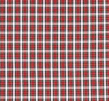 White/Red/Black/GreenPl aid (#126) - Pomeranian, Beagle, Silky Terrier, Puggle
