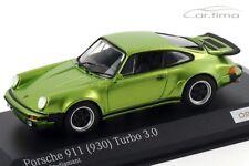 1:43 MINICHAMPS 1975 PORSCHE 911 (930) Turbo 3.0 viper green 200 cartima EXCL.