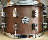 "DW PDP Snare Drum 14x8"" Walnut Maple Walnuts Pacific / Caisse Claire Rullante"