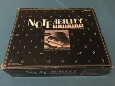 Rare Tiger Electronics Noteability Complete 1990 Teen & Up Name that Song Game