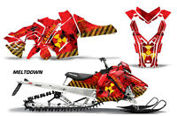 Snowmobile Graphics Kit Decal Sticker Wrap For Polaris Axys SKS 15-16 MLTDWN Y R