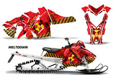 AMR Racing Sled Wrap Polaris Axys SKS Snowmobile Graphics Sticker Kit 2015+ MELT