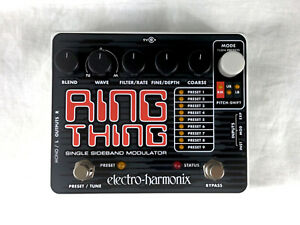 Used Electro-Harmonix EHX Ring Thing Single Sideband Modulator Effects Pedal
