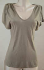 NWT LAROK SEXY TIE UP BACK  FATIGUE GREEN  TOP, sz large