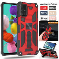 For Samsung Galaxy A11 A21S A41 A51 Shockproof Magnetic Rugged Armor Case Cover