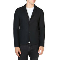 EMPORIO ARMANI Men's BLACK Blazer Coat Brand New & Authentic / RRP $670
