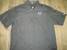 $80 Nike Nfl Shield Indianapolis Colts Gray On Field Golf Jacket-Xxl/2Xl & Free