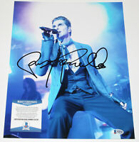 PERRY FARRELL JANE'S ADDICTION HAND SIGNED AUTHENTIC 11X14 PHOTO BECKETT COA BAS