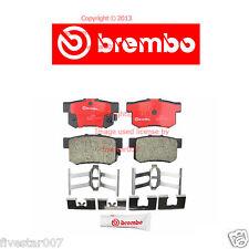 brembo Rear Disc Brake Pad Set Only for Cars w/ Manual Transmission for Honda