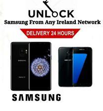 Unlock Code Samsung J4 J6 Plus A6 A8 S10 S10 PLUS Vodafone O2 Three Eir Ireland