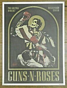 Original Guns N' Roses Not In This Lifetime Philadelphia PA 18x24 Poster 249/300