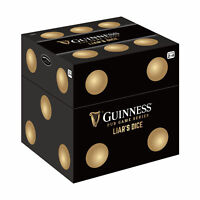New - Front Porch Classics Guinness Pub Game Series - Liar's Dice - Ages 21+