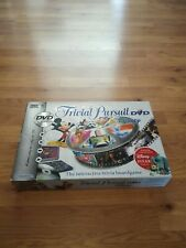 Trivial Pursuit Disney Edition DVD. Board Game.
