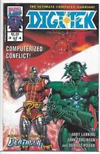 Marvel UK Comics Digitek # 3 (Of 4) NM 1992 Limited Series Deathlok