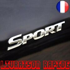 3D Chrome Logo Autocollant Voiture SPORT Emblème Badge Porte Sticker Auto Style