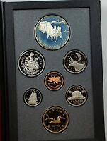 1992 Canada Proof Set- Stagecoach Commemorative- w/Box & COA