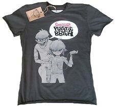 Official AMPLIFIED GORILLAZ Plastic Beach Rock Star Vintage ViP T-Shirt XL/XXL