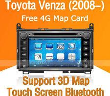 "7"" Car Dash DVD GPS Navigation Radio Stereo Bluetooth for Toyota Venza 2008-2014"