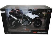 AUTOMAXX KTM 990 SM-T WHITE/BLACK 1/12 MOTORCYCLE MODEL 601703