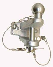 Boule d'attelage - Double chape mixte 3500kg - 2 Trous - Boule 50mm