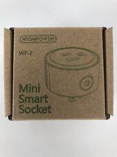 NTONPOWER WF-2 Mini Smart Socket WiFi Wireless Outlet US Plug