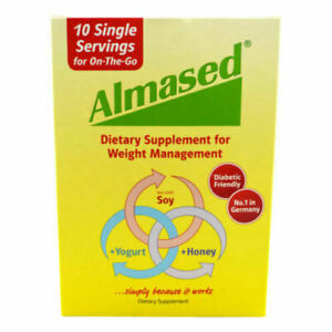 Almased Dietary Supplement Single Serving Packets,1.8 Oz- Pack of 20- Exp 01/21