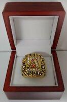 Randy Johnson - 2001 Arizona Diamondbacks World Series Baseball Ring Wooden Box