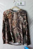 NEW COLUMBIA PHG RealTree AP Midweight Fitted Long Sleeve Hunting Base Layer S-M