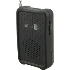 GPX R055B Portable AM/FM Radio with Built-in Speaker