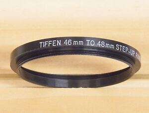 Tiffen Step-up Ring 46-48mm made in the U.S.A.